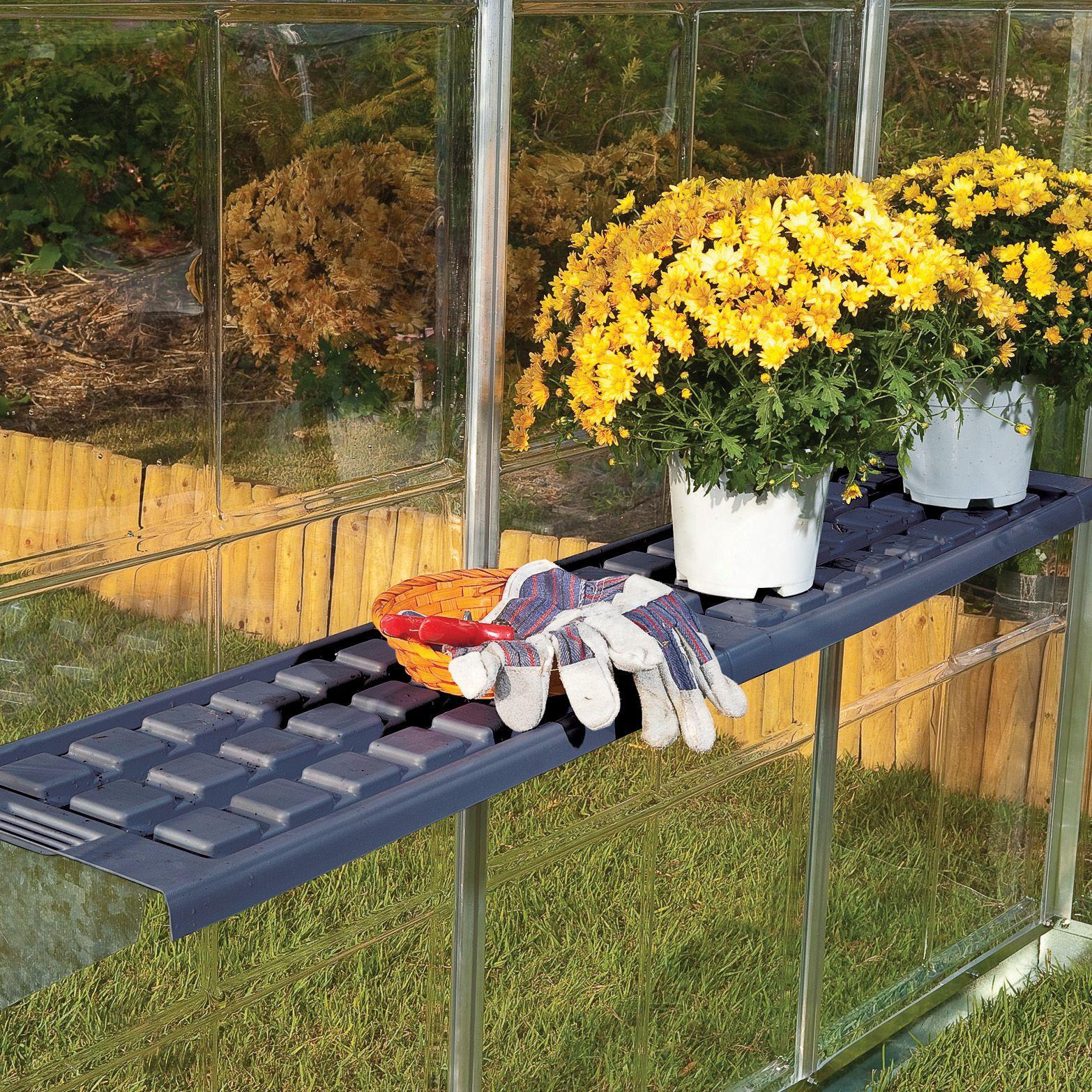 Palram Greenhouse shelf kit | Departments | DIY at B&Q