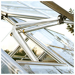 Aluminium Greenhouse Window Auto Vent (H)500mm (D)400mm