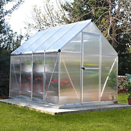 Palram Mythos 6X8 Polycarbonate Greenhouse