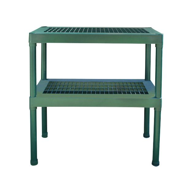 ONE TWO THREE TIER GREENHOUSE STAGING DISPLAY SHELVING TABLE POTTING PLANTS Wido