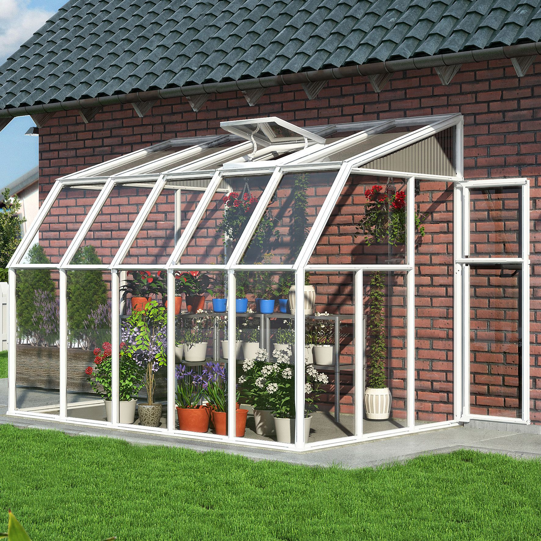 Palram Sun Room 6X12 Acrylic glass sun room