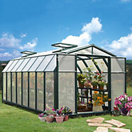 Rion Hobby Gardner 8x16 Acrylic glass Twin Wall greenhouse