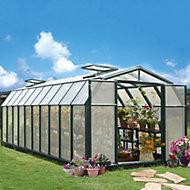 Rion Hobby Gardner 8x20 Acrylic glass Twin Wall greenhouse