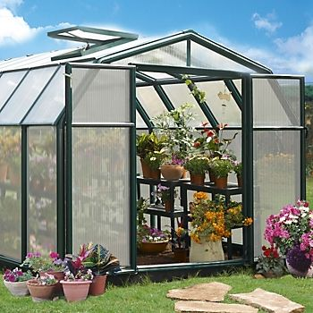 Rion Hobby Gardner 8X20 Dutch Barn Greenhouse