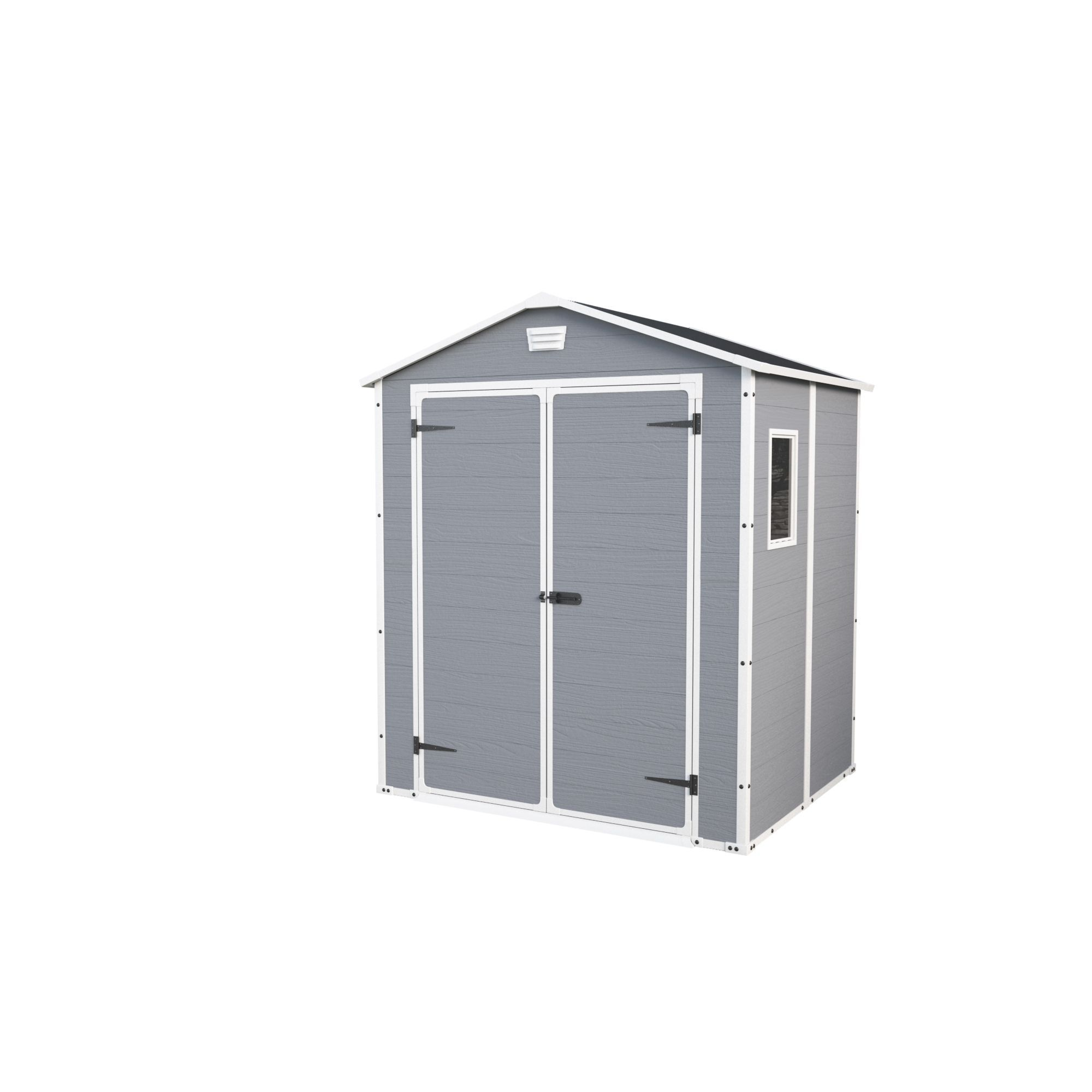 6x5 Manor Apex Roof Plastic Shed Departments Tradepoint