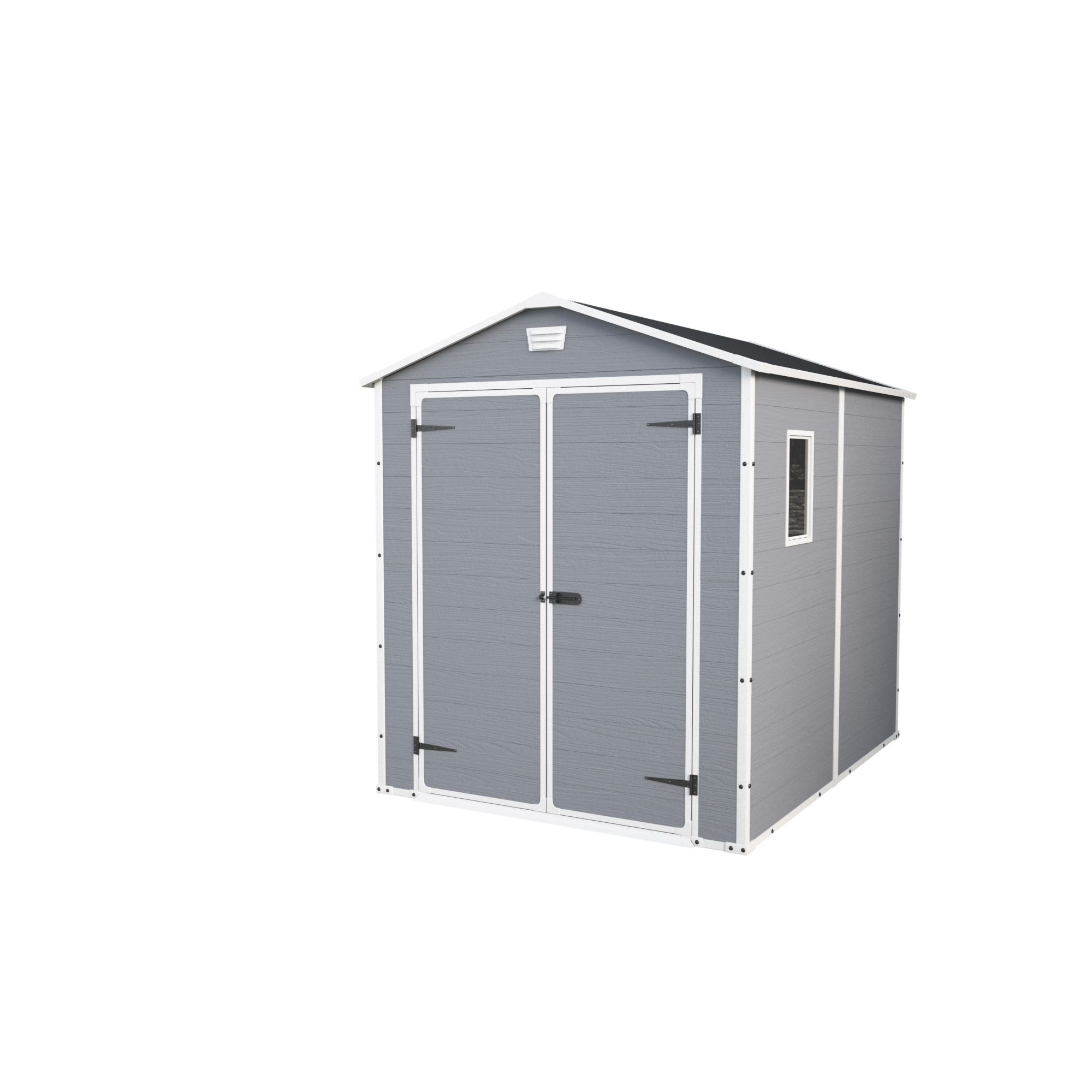 8x6 Manor Apex Plastic Shed