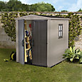 6x6 Factor Apex roof Plastic Shed