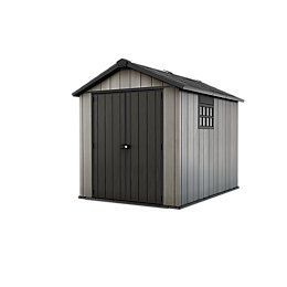 9x7.5 Oakland Apex Plastic Shed