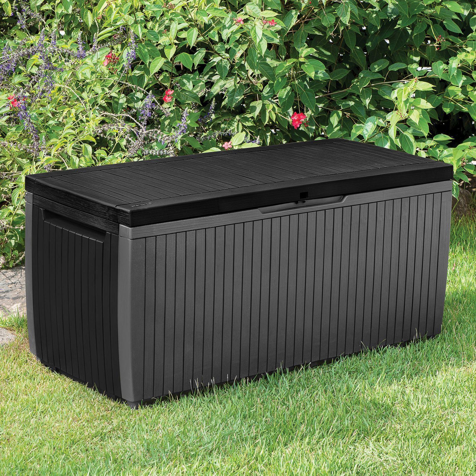 Springwood Plastic Garden Storage Box Departments Diy