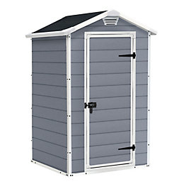 4x3 Manor Apex Plastic Shed Base included