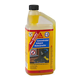 Sika Yellow Waterproofing & Air Entraining Admixture 1000ml