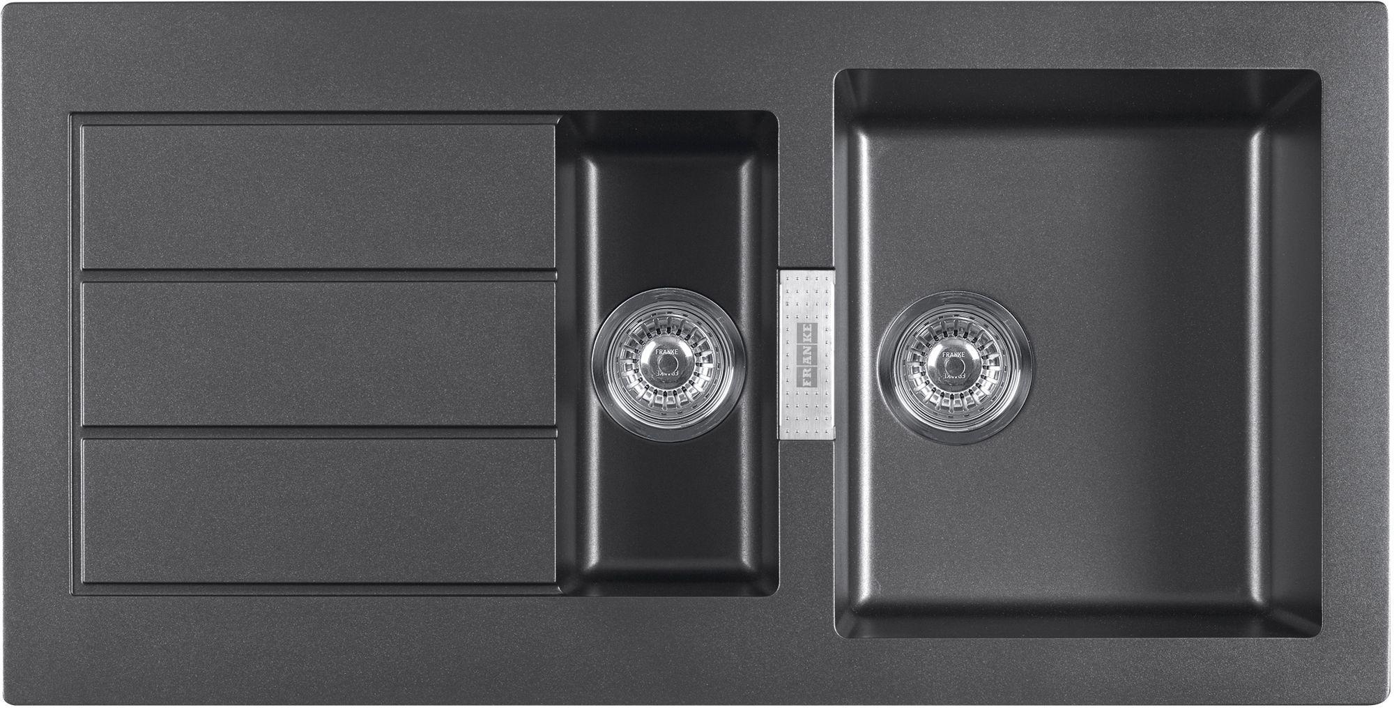 franke sirius 1 5 bowl black composite 1 5 kitchen sink   departments   diy at b u0026q franke sirius 1 5 bowl black composite 1 5 kitchen sink      rh   diy com