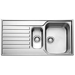 Franke Ascona 1.5 bowl Polished Stainless steel Sink