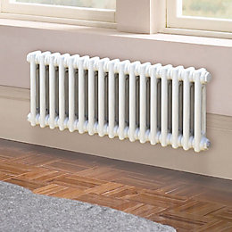Acova 2 Column Radiator, White (W)812mm (H)300mm