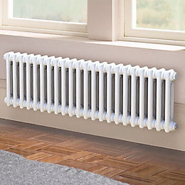 Acova 2 Column Radiator, White (W)1042mm (H)300mm