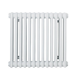 Acova 3 Column Radiator, White (W)628mm (H)500mm