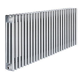 Acova 3 Column Radiator, Silver (W)1226mm (H)600mm