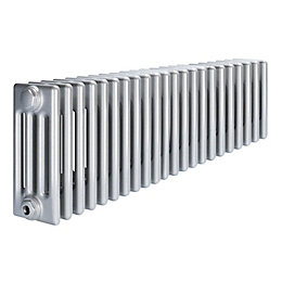 Acova 4 Column Radiator, Silver (W)1042mm (H)300mm