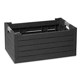Florida Plastic Wood effect Folding crate