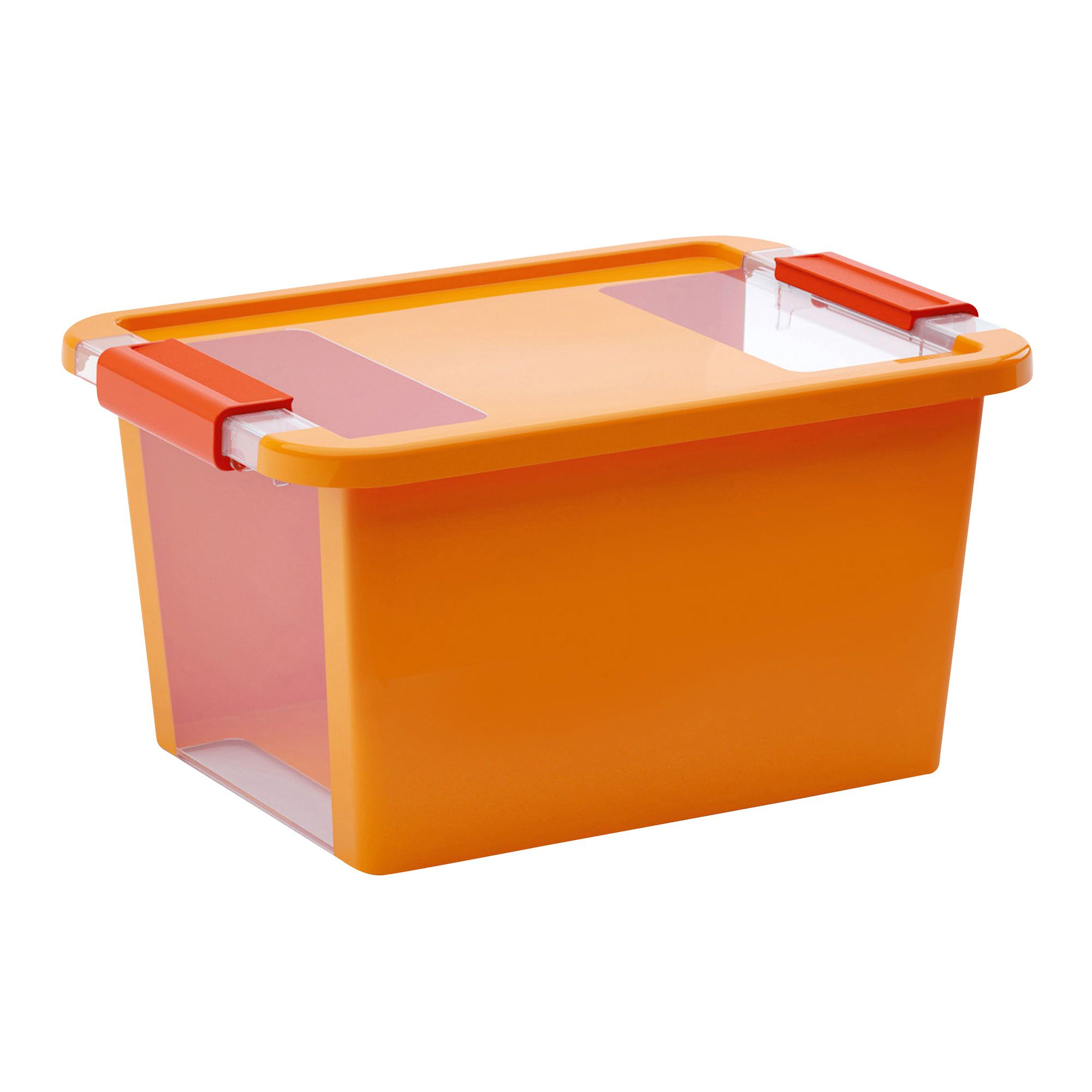 sc 1 st  Bu0026Q & Kis Bi Box Orange 40L Plastic Storage Box | Departments | DIY at Bu0026Q