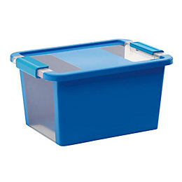 Bi box Blue 11L Plastic Storage box
