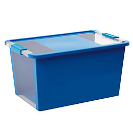 Bi box Blue 40L Plastic Storage box