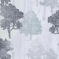 Fine décor Tree Metallic Wallpaper
