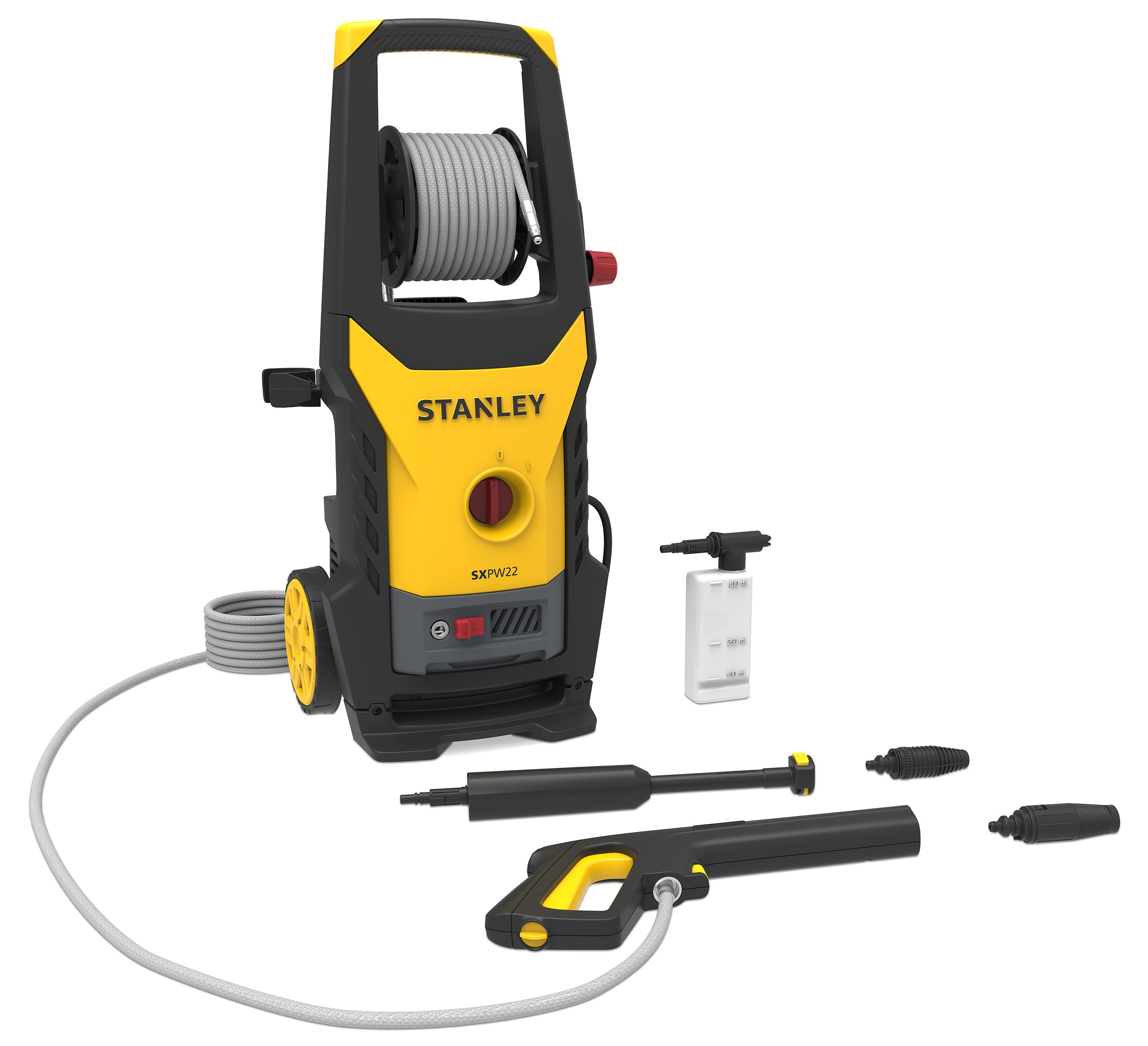 Stanley 150 Bar Electric Pressure Washer Departments