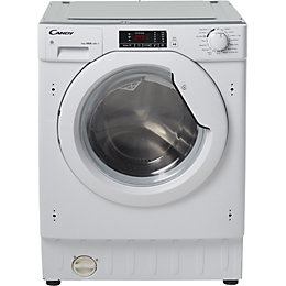Candy CBWD 7514D-80 White Built in Washer dryer