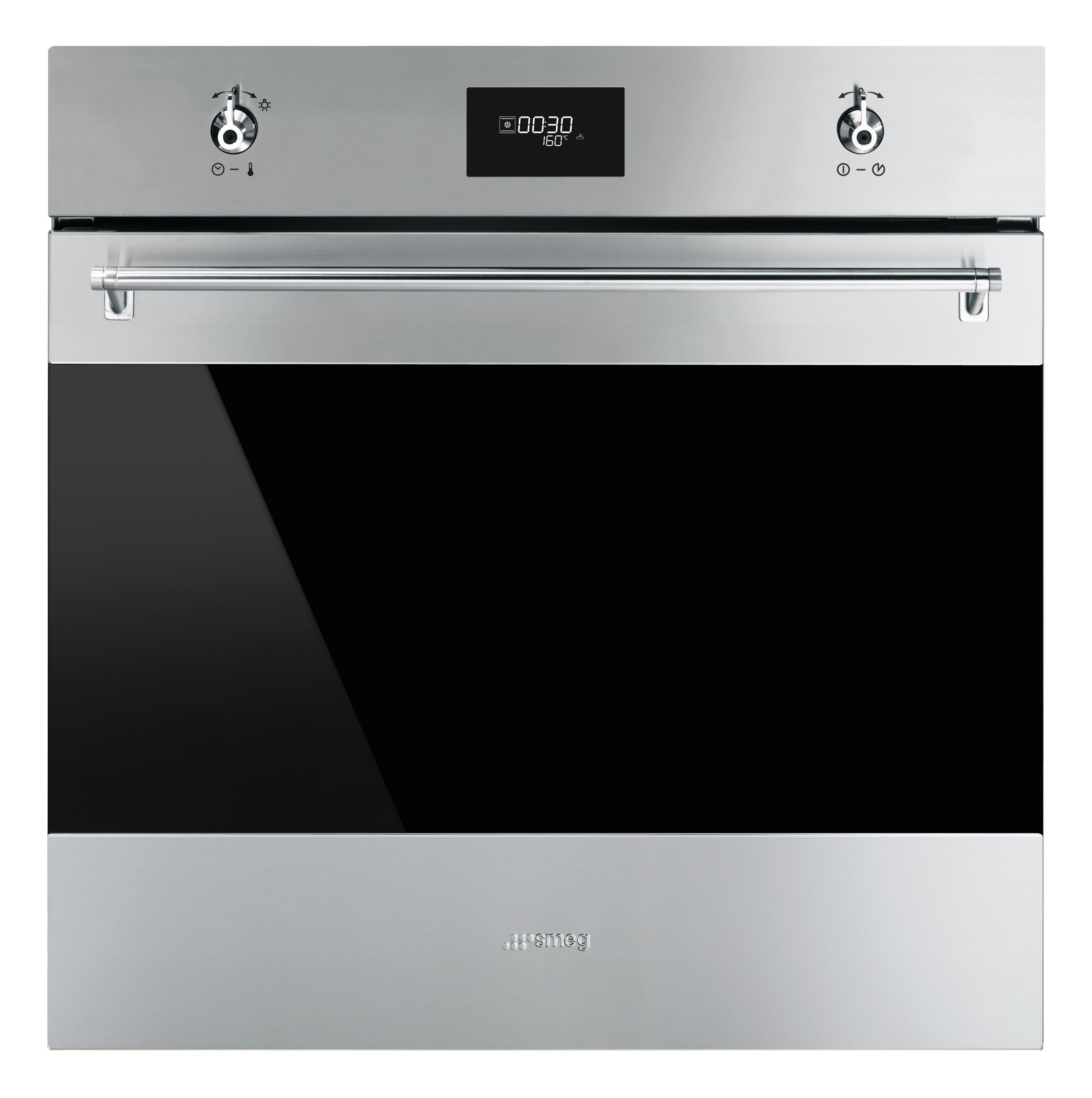 Smeg Sf6372x Stainless Steel Electric Multifunction Single