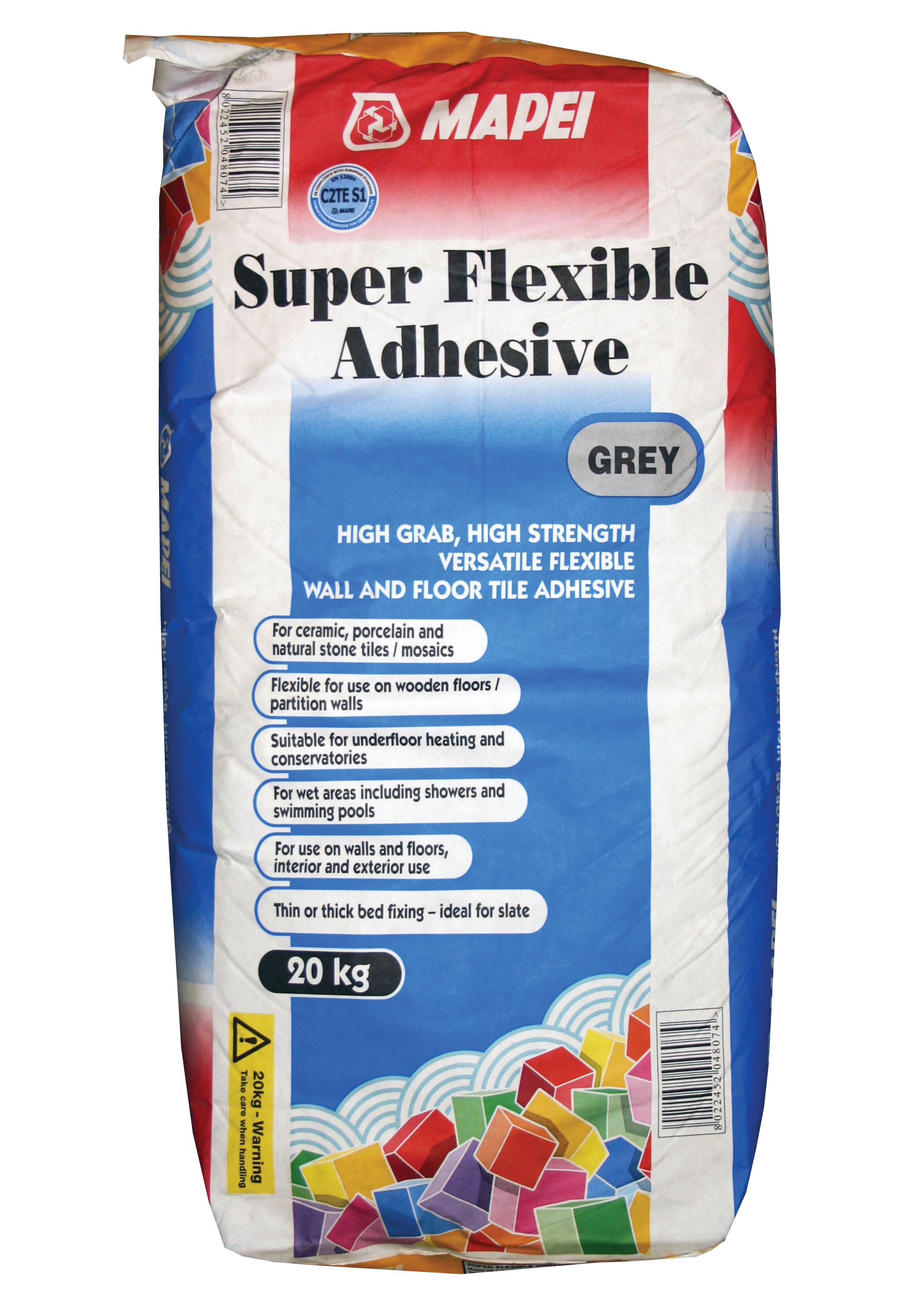 Mapei super flexible powder adhesive grey 20kg departments diy mapei super flexible powder adhesive grey 20kg departments diy at bq dailygadgetfo Gallery
