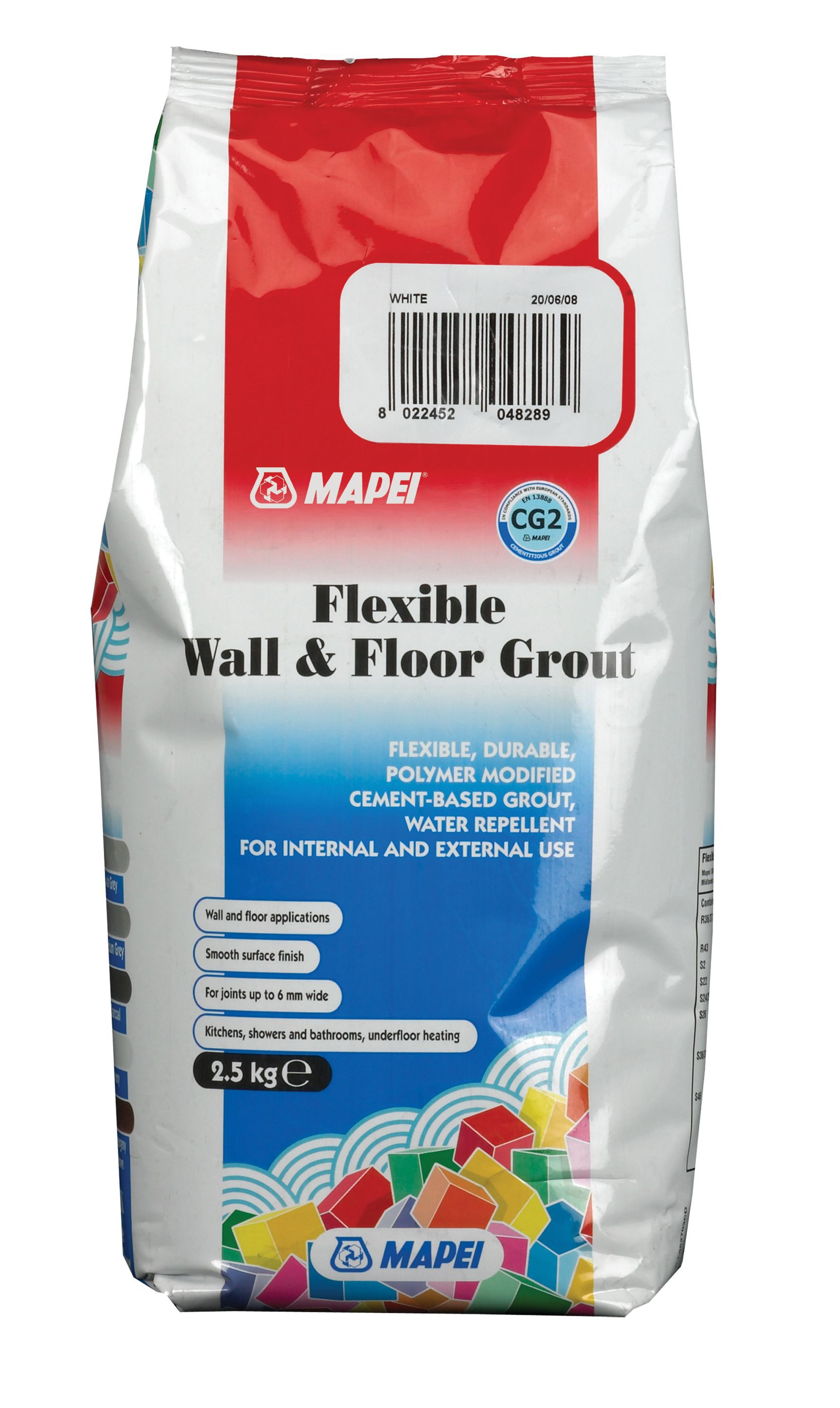 Mapei flexible white wall floor grout w25kg departments mapei flexible white wall floor grout w25kg departments diy at bq dailygadgetfo Gallery