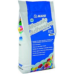 Mapei Powder Mosaic Tile Adhesive, White 5kg