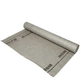 Dark grey Breather membrane (L)50m (W)1500mm