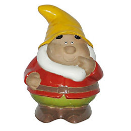 Verve Red Gnome Garden Ornament