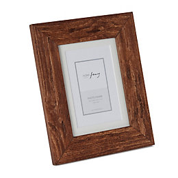 Rustic Single Frame Wood Picture Frame (H)25.2cm x