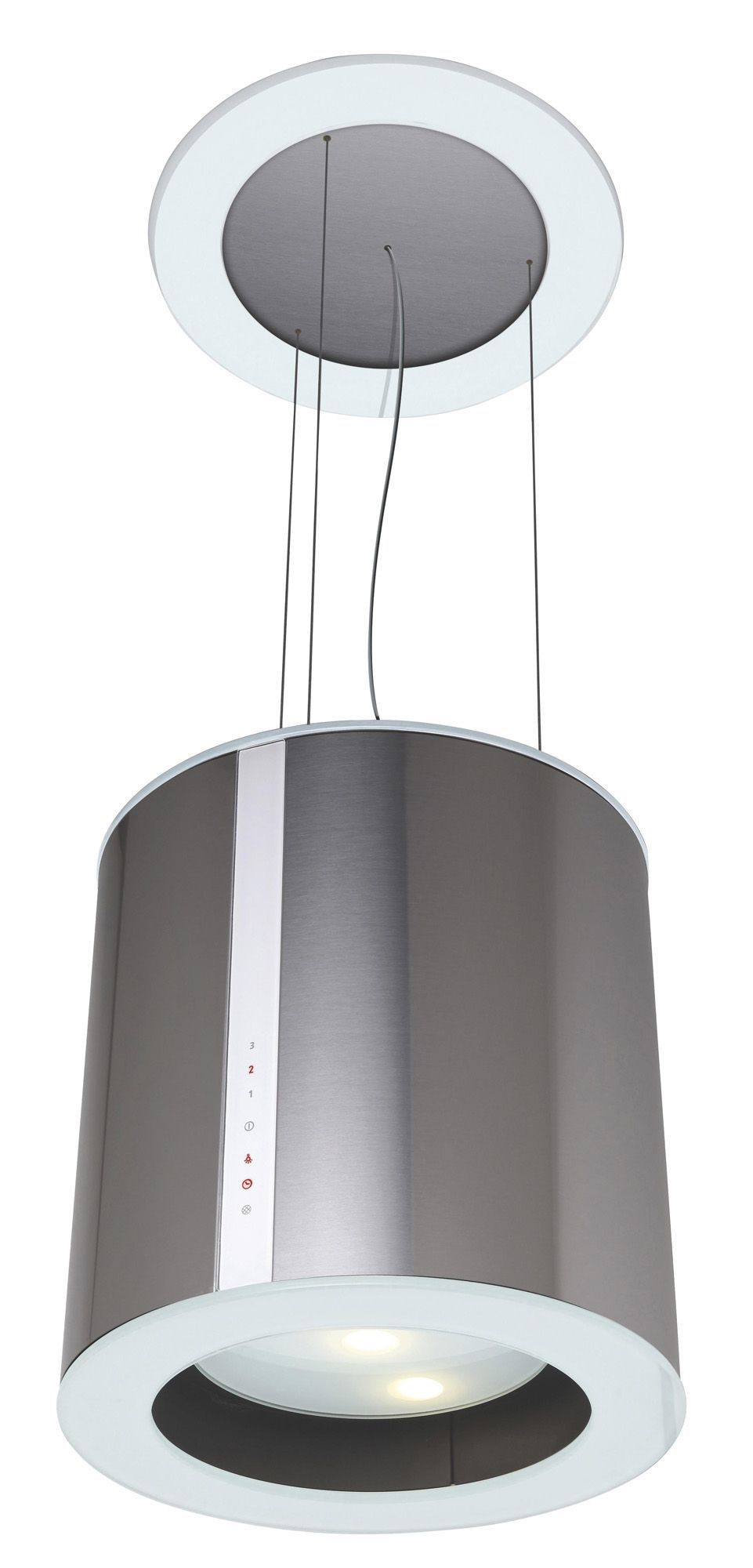 Designair chandelier stainless steel island cooker hood w 400mm designair chandelier stainless steel island cooker hood w 400mm departments diy at bq aloadofball Image collections