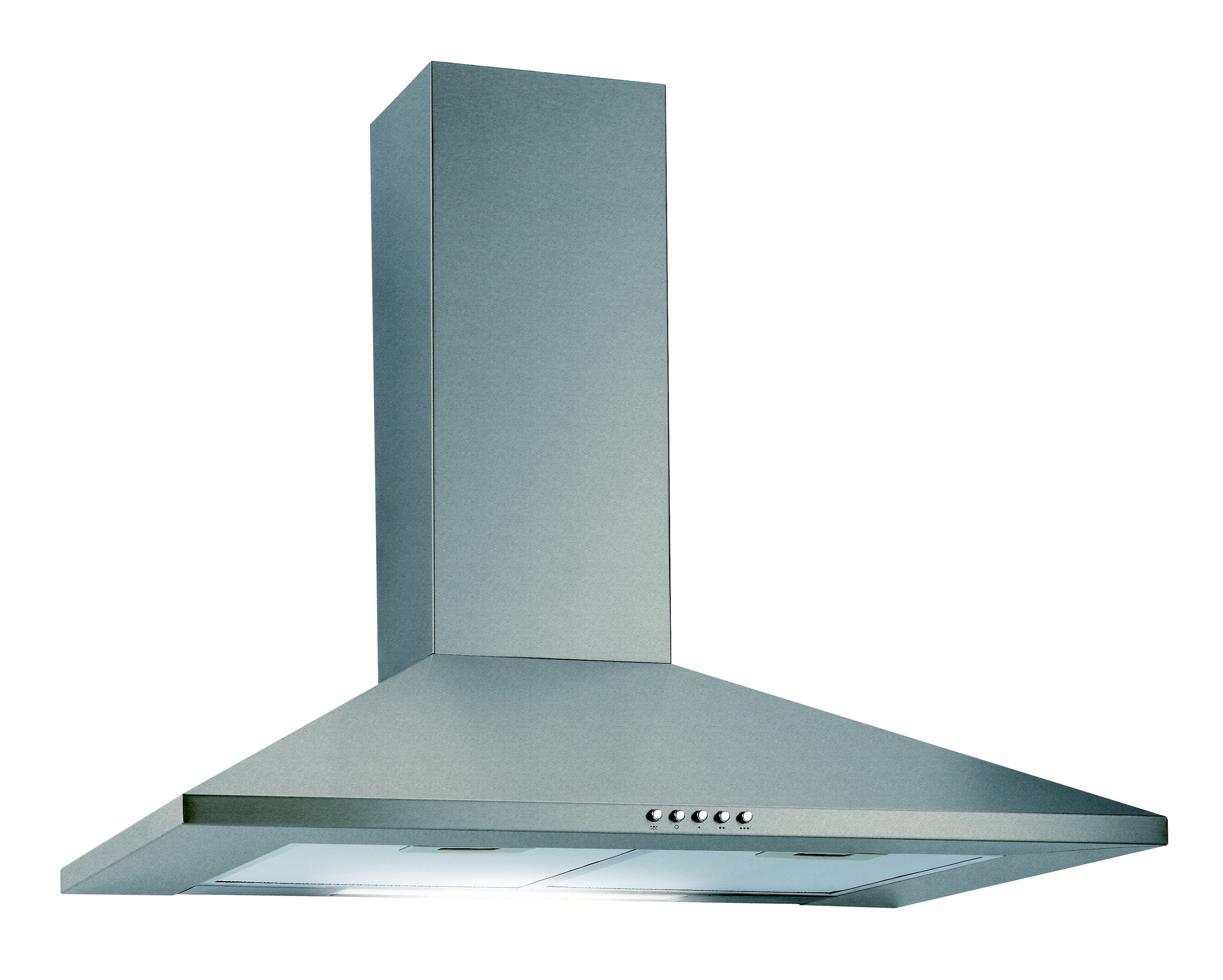 Cata CHSV60 Stainless steel Chimney Cooker hood, (W) 600mm ...
