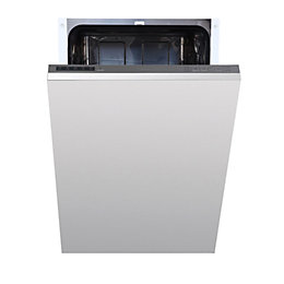 Cata IDW45M Integrated Slimline Dishwasher, White