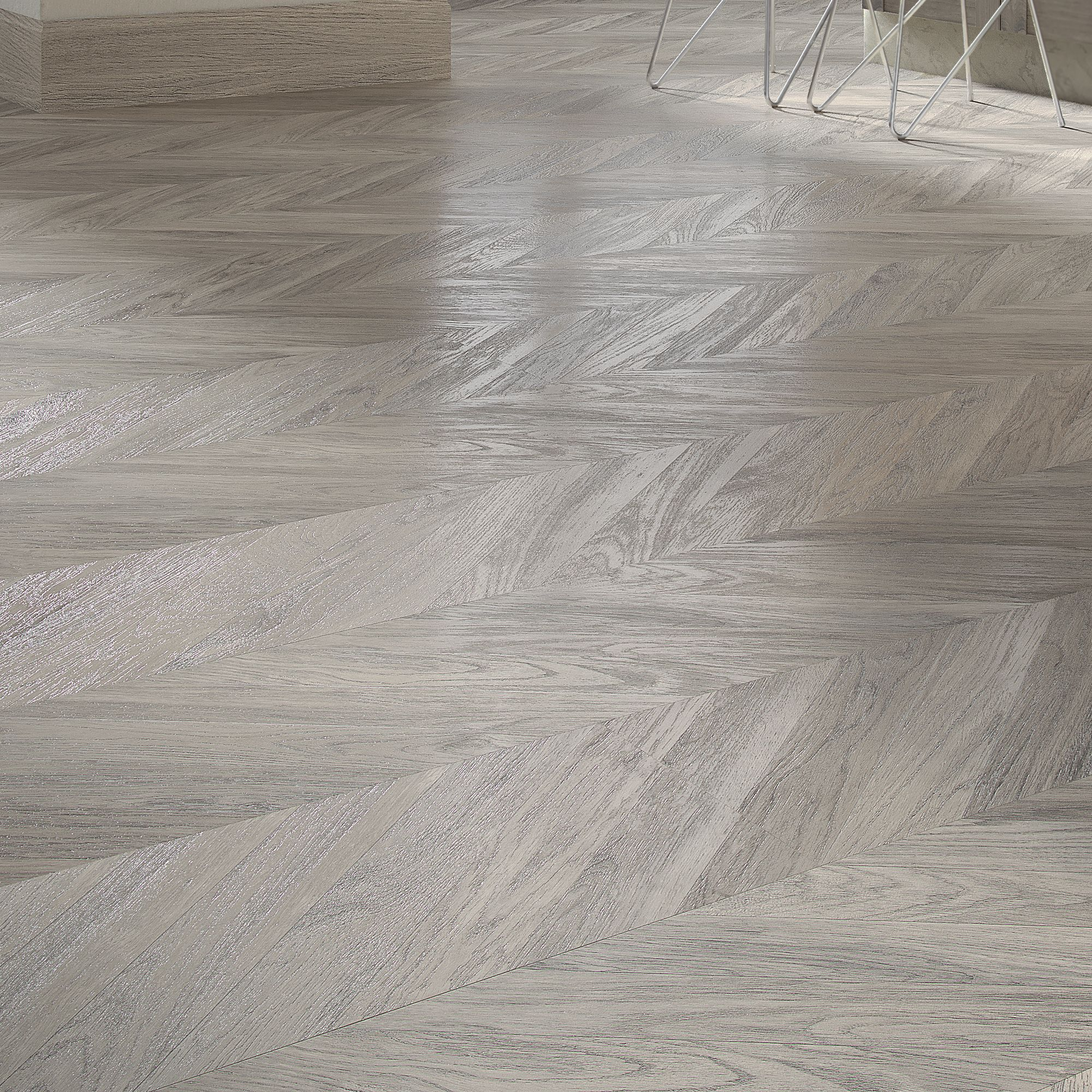 B Amp Q Alessano Grey Oak Effect Laminate Flooring 1 39m 178