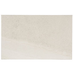 Fiji White Stone effect Ceramic Wall tile, Pack