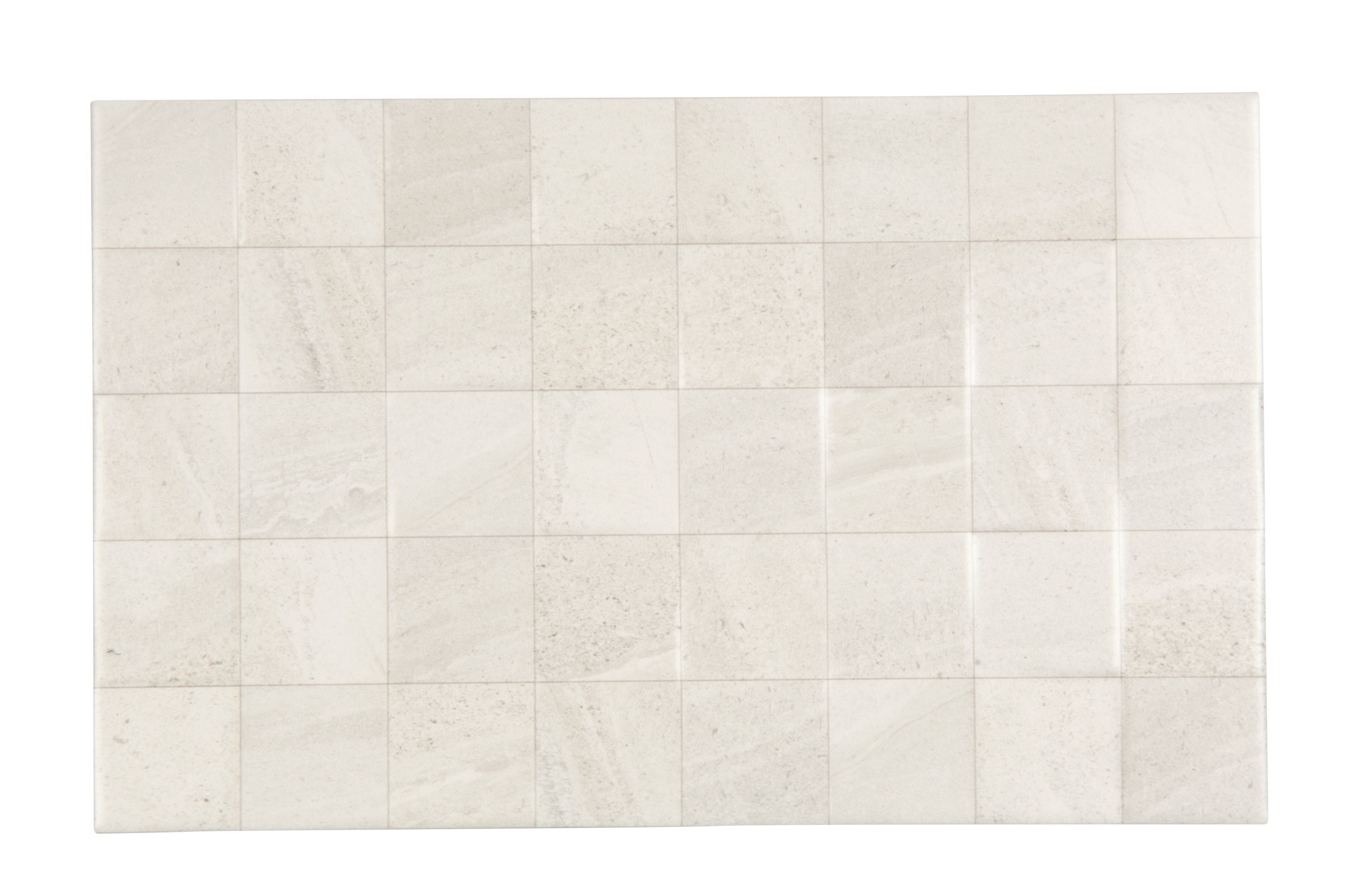 Fiji White Stone Effect Ceramic Wall Tile Pack Of 10 L 400mm W 250mm Departments Diy At B Q
