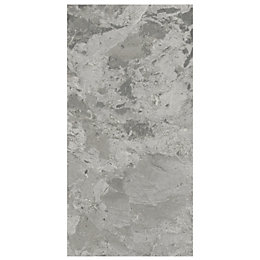 Harmony Grey Marble effect Ceramic Wall tile, Pack