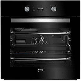 Beko BQM24301BCS Black Electric Multifunction single oven