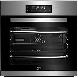 Beko BQM22400XP Black & stainless steel Electric Pyrolytic