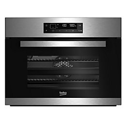 Beko BQW12400X Black & stainless steel Electric Compact