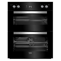 Beko BTQF24300B Black Electric Built in double oven