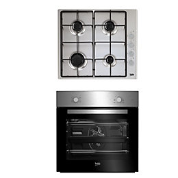 Beko QSE223SX Black & stainless steel Single Multifunction