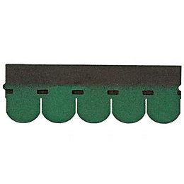 Green Roofing membrane shingle (L)1m (W)330mm
