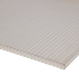 Polycarbonate Multiwall Roofing Sheet 4m x 900mm
